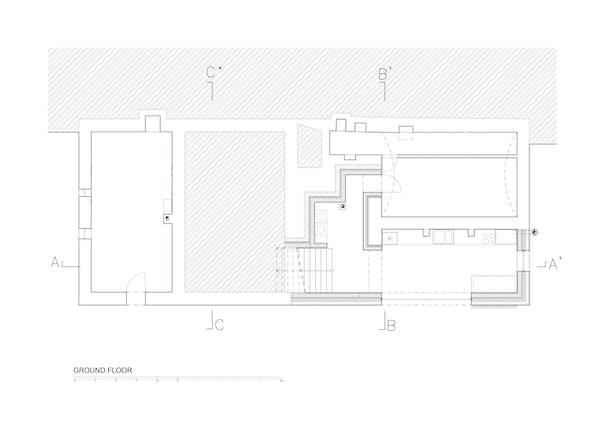 Ground Floor Plan © Mjölk architekti