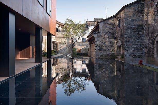 Inner Courtyard Landscape, photo: Wu Qingshan