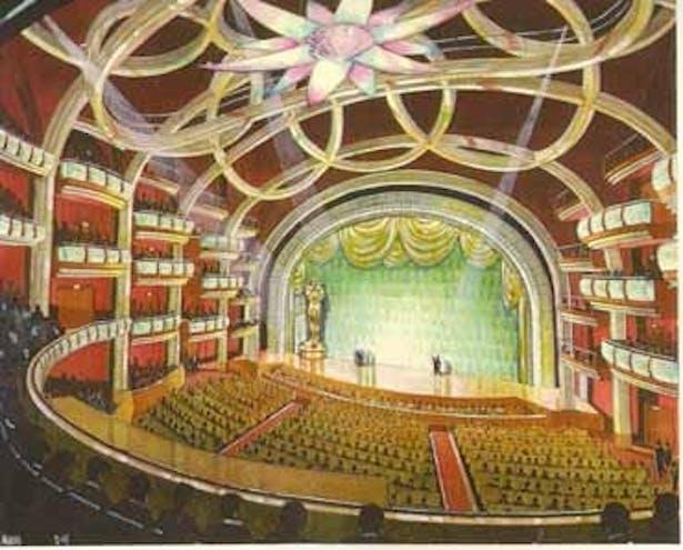 Rendering of The Auditorium