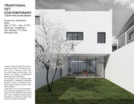 Traditional yet Contemporary -- Courtyard House Design
