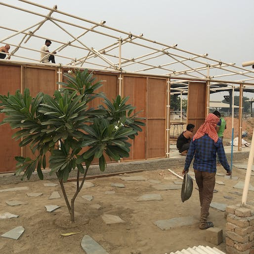 Hatch Workshop, Workers' Housing Prototype, 2017, Haryana, India. Courtesy of the architects.