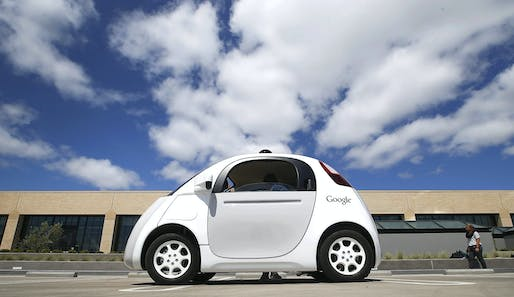 One of Google's self-driving cars, via engadget.com.