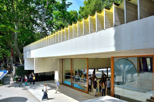 Nordic Pavilion, Giardini della Biennale. Image © Gianluca Giordano