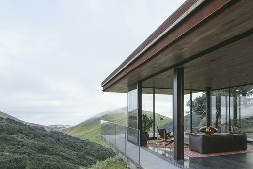 """<a href=""""https://archinect.com/firms/project/149994980/off-grid-guesthouse/150266531"""">Off-Grid Guesthouse</a> on the Central California Coast by <a href=""""https://archinect.com/anacapa"""">ANACAPA</a>; Photo: Erin Feinblatt"""