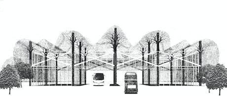 Transport hub idea from dream town series