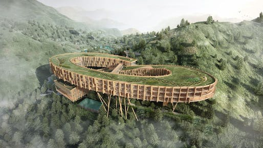 AIM Architecture is the overall winner of the 20th edition of the Architectural Record Future Project Awards for their FX Mayr Wellness Eco Retreat in Wenzhou, China. All images courtesy of The Architectural Reveiw