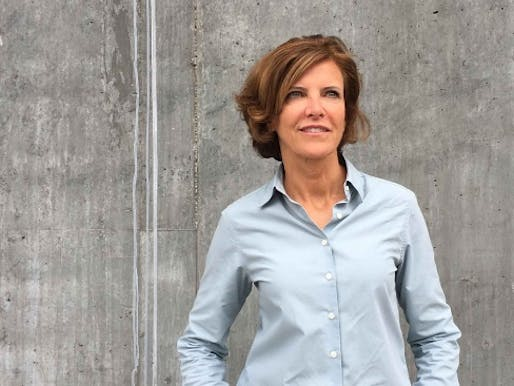 Jeanne Gang, founder of Studio Gang Architects. Image: Studio Gang.