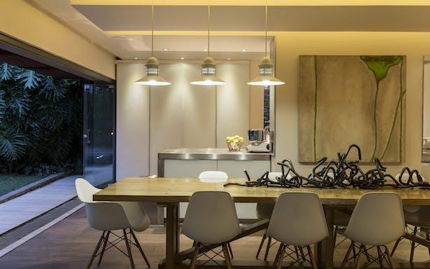 Dining, kitchen