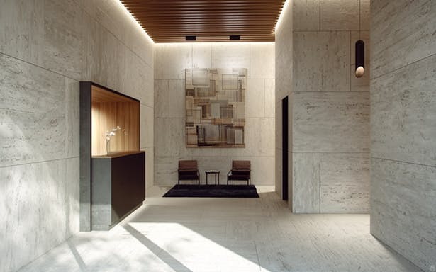 Residential Lobby view