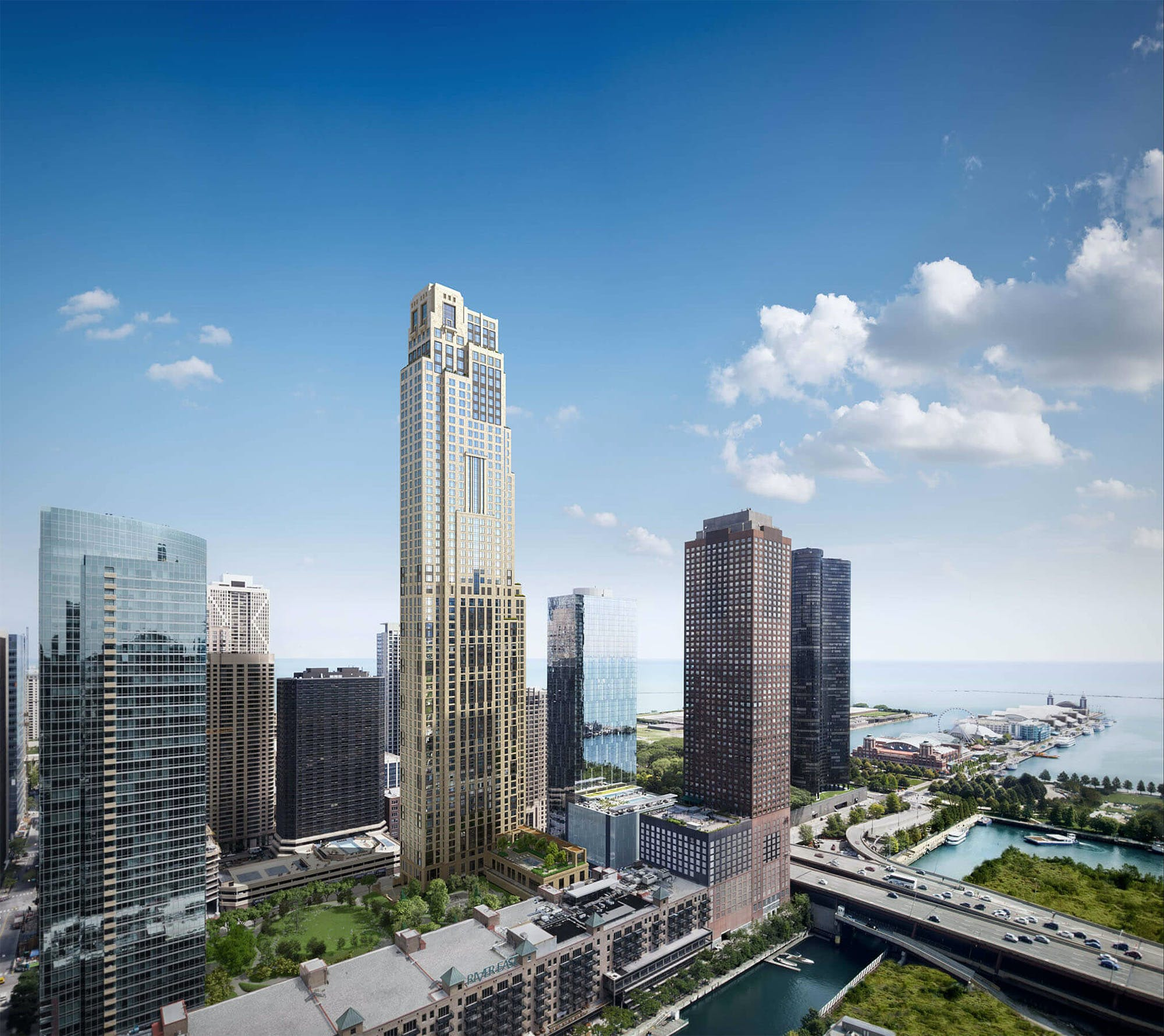 Robert A.M. Stern's first Chicago tower nears completion