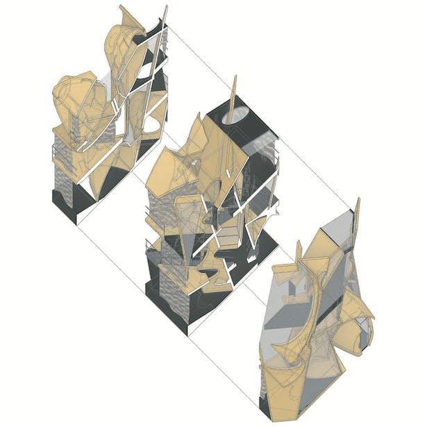 Dwelling Unit Axonometric