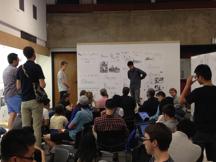 First year final review at USC School of Architecture. Photo: Amelia Taylor-Hochberg. From 1st year goals and final crit anxieties: a few words from USC Architecture students