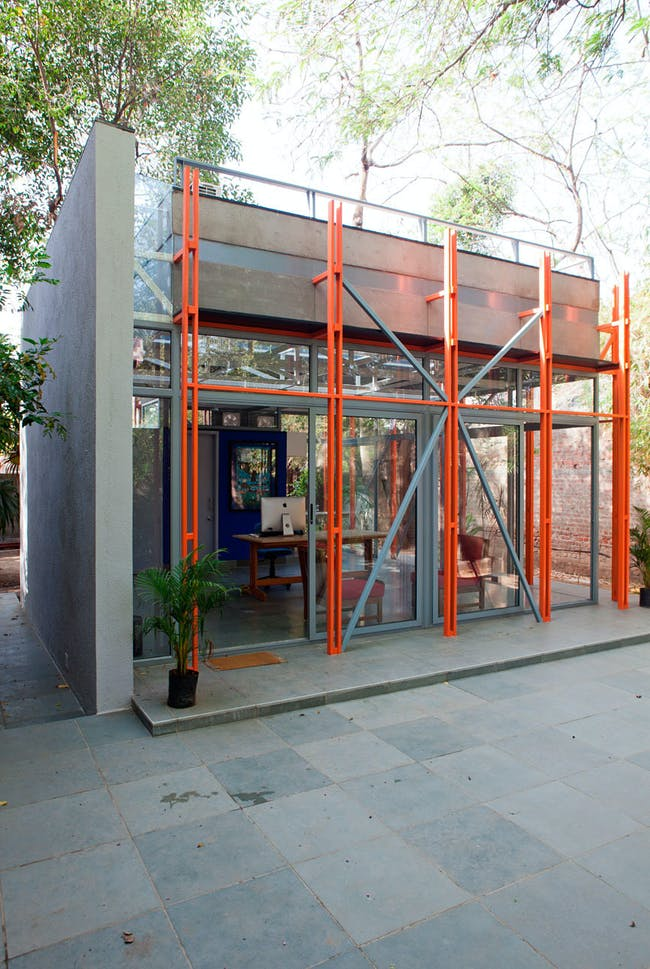 Pavilion of Incremental Form in Ahmedabad, India by Anthill Design; Photo: Deepshikha Jain
