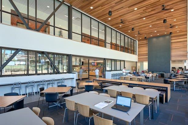 OSU Cascades Dining Hall Cafeteria