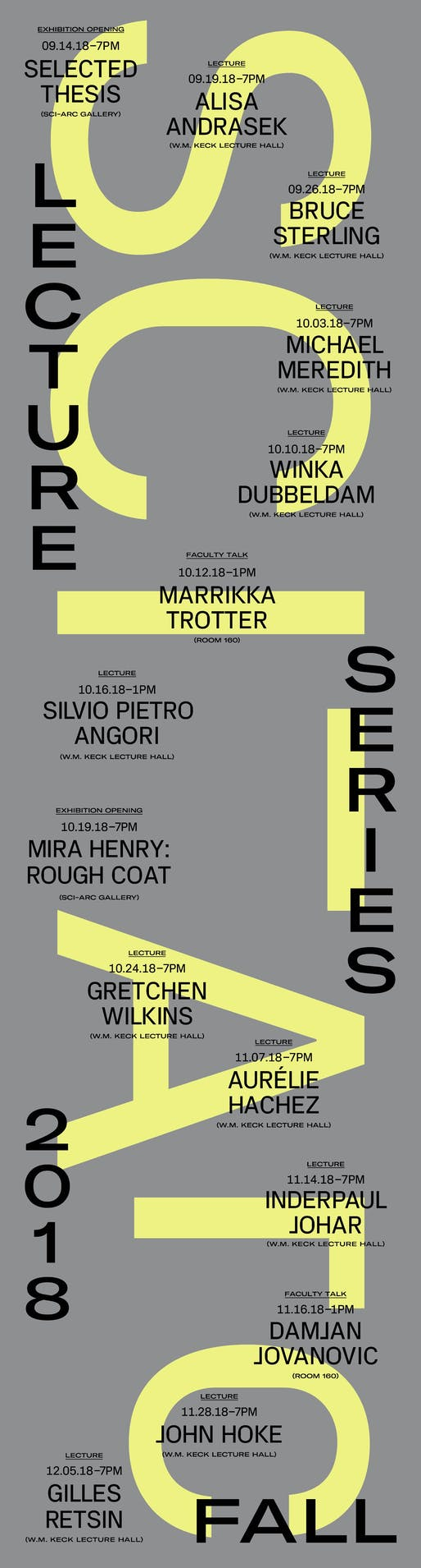 Poster courtesy of SCI-Arc.