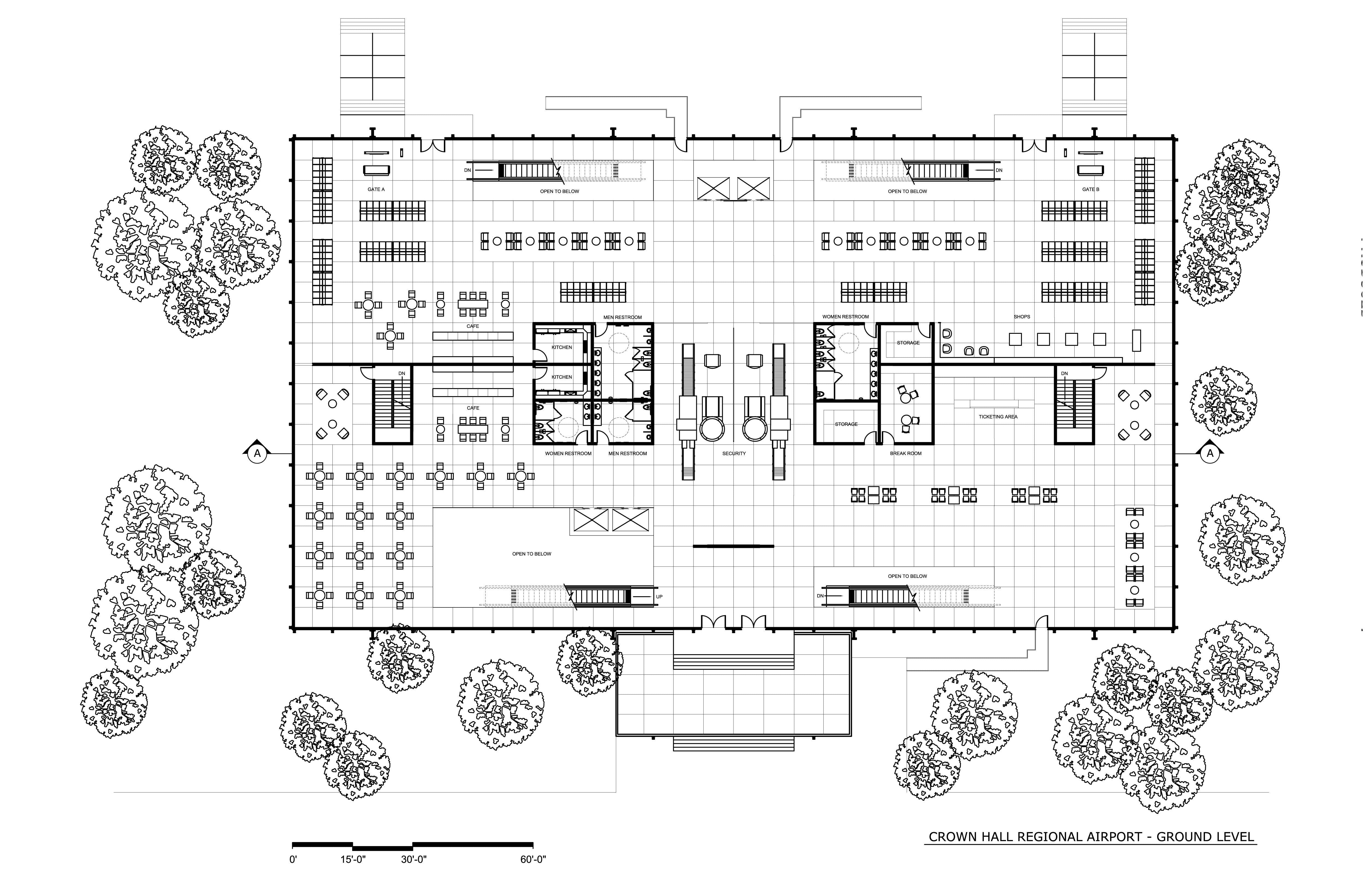 Crown Hall Regional Airport Eric Hidalgo Archinect