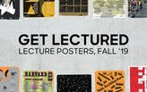 Vote now for your favorite Fall '19 architecture school lecture poster!
