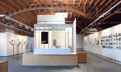 The A+D Front desk. Image © Hans Koesters / courtesy of the A+D Museum.