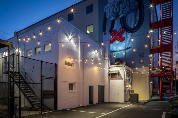 Rear Alley Event Space