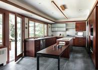 Briarcliff Manor Japanese Bath & Kitchen (MICHAEL LEWIS ARCHITECTS PC PORTFOLIO)