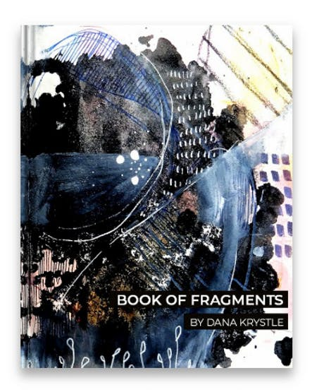 Published my first art book (The Book of fragments)