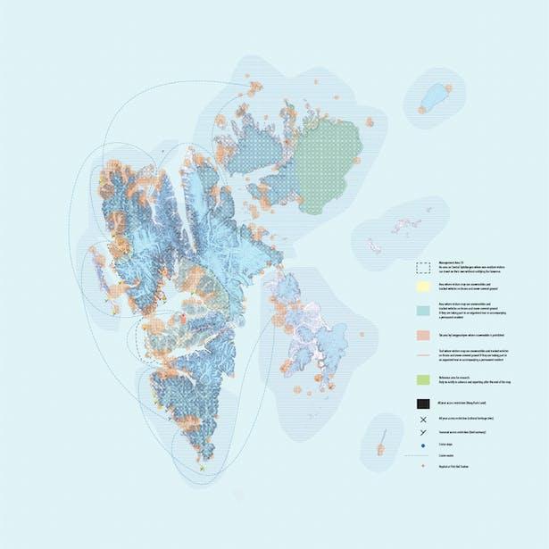 Svalbard Analyzed Map