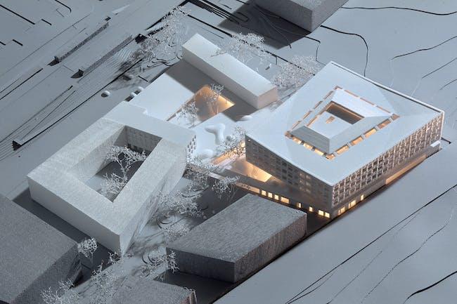 Model (Photo: Henning Larsen Architects)