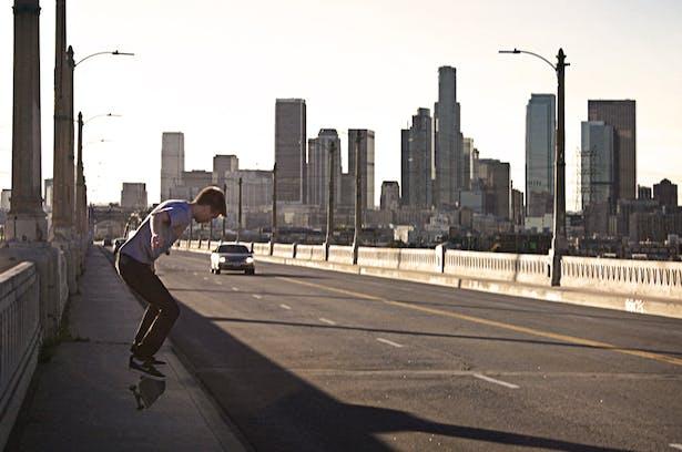 original photo: 6th Street Bridge skate shoot