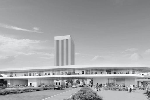 LACMA's fundraising efforts have stalled. Image courtesy of Peter Zumthor/The Boundary.
