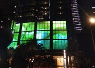 Wilshire Grand Lighting Installation