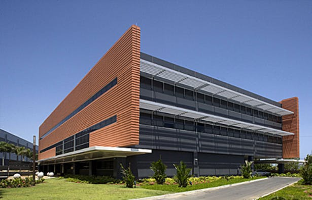 Office Building Exterior View
