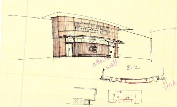 Greenwood Auditorium Lobby Study-3