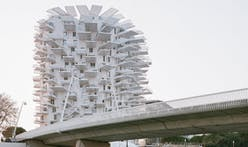 Sou Fujimoto's eye-catching apartment tower, L'Arbre Blanc, is a cantilevered spectacle