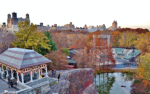 Delacorte Theater in Central Park. Image via flickr:gigi_nyc