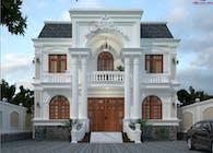 Mansion designs thiết kế dinh thự đẹp Kiến An Vinh