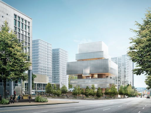 Rendering of the Herzog & de Meuron-designed new Vancouver Art Gallery building © Herzog & de Meuron