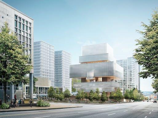 Rendering of the Herzog & de Meuron-designed new Vancouver Art Gallery building © Herzog & de Meuron