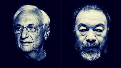Frank Gehry Image © Atelier Courbet and Ai Weiwei Image © Filip Van Roe