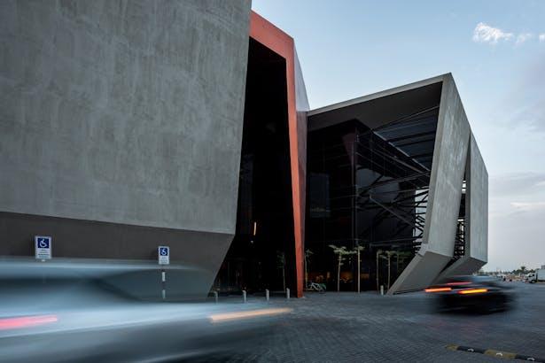 Axiom Telecom Headquarter - Photo by Tushar Naik