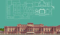 Architect creates detailed floor plans of Buckingham Palace