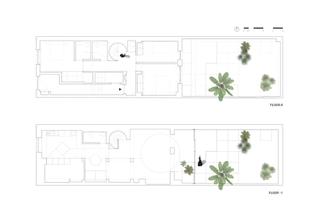 Pinheiro Manso Apartment by Mass Lab, located in Porto, Portugal. Image: Mass Lab.