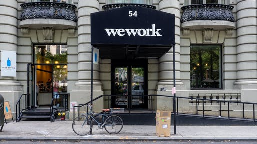 """WeWork in Midtown Manhattan. Photo: Ajay Suresh, <a href=""""https://creativecommons.org/licenses/by/2.0/"""">Creative Commons 2.0</a>"""