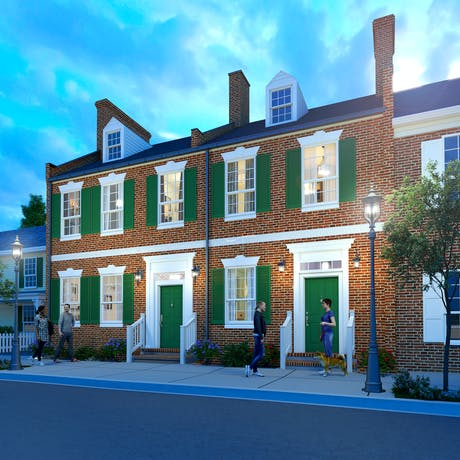 Row House Restoration | Easton, Maryland