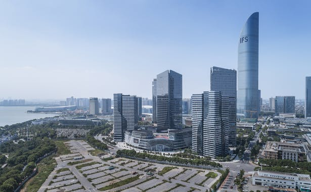 Hong Leong City Center, Suzhou, China, by Aedas