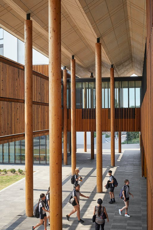 The David Oppenheim Award for Sustainable Architecture: Marrickville Library, BVN, NSW. Photo: Tom Roe.