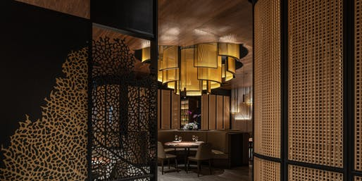 YU Seafood Yorkdale Mall by Dialogue 38 Inc.. Image courtesy CODAawards