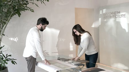 Employees at Oppenheim Architecture.