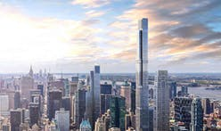 World's tallest residential building tops out in New York City