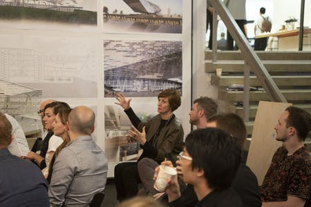 Winka Dubbeldam, Chair of the Architecture Department at the Weitzman School of Design at the University of Pennsylvania. Image courtesy of Weitzman School of Design.