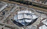 BIG + Heatherwick Studio's Google Campus roof canopy unveiled